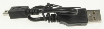 996580003187 Kabel usb 20cm, czarny PHILIPS