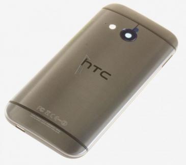 83H4001201 HTC ONE MINI 2 M5 AKKUDECKEL GRAU MIT NFC HTC