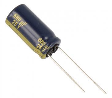 Kondensator elektrolityczny EEUFC1E681