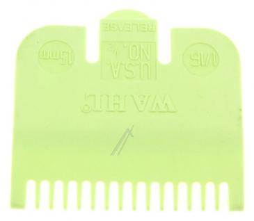 3137 ATTACHMENT COMB 1,5MM, LIME GREEN WAHL / MOSER