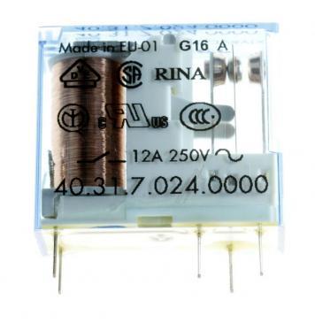 403170240000 24VDC12A250VAC RELAIS, 1 WECHSLER FINDER