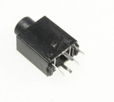 996580004538 PHONE JACK D3.5MM BLK GIBSON/PHILIPS