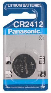CR2412BN CR2412 BATTERY LITHIUM 3V KNOPFZELLE 24.5MM, 100MAH PANASONIC