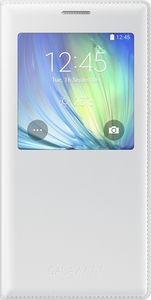 Pokrowiec | Etui S View Cover do smartfona Galaxy A7 EFCA700BWEGWW (białe)