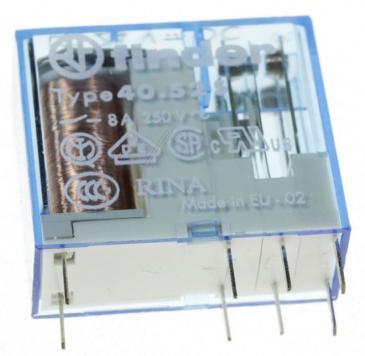 405270240000 24VDC8A250VAC RELAIS, 2 WECHSLER FINDER