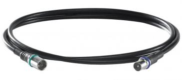 73378 DS37U0150 Kabel IEC wt/gn, 1,5m WISI