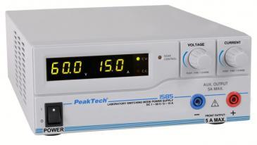 P1585 1585 DIGITAL-LABOR-SCHALTNETZTEIL MIT USB ~ DC ~ 1-60 V PEAKTECH