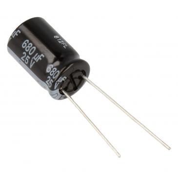 680uF | 25V Kondensator elektrolityczny 105°C10mm