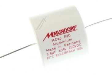 ME5,60T3450 5,6UF450V AUDIO FILMKOND. AXIAL 85° 30X27MM MUNDORF