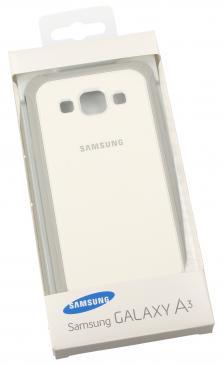 Pokrowiec | Etui do smartfona Galaxy A3 EFPA300BSEGWW (biało-szare)