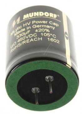 MLGO450330 330UF450V AUDIO HOCHVOLT-ELKO RADIAL 105° 35X40MM MUNDORF