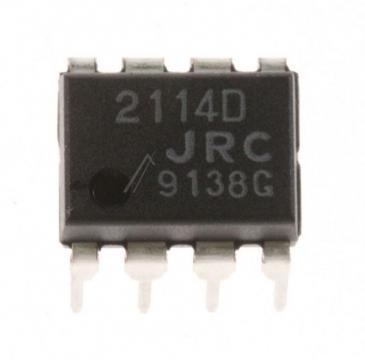 NJM2114D 2114D IC OPERATIONSVERSTÄRKER, DIP-8 JRC