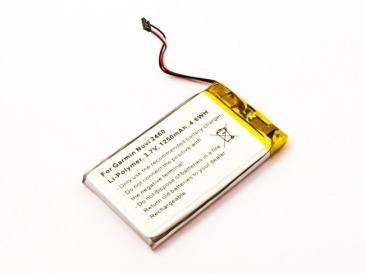 3,7V-1250MAH li-polymer akku für navi garmin