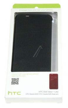 99H2001100 HCM140 HTC DOT VIEW FLIP CASE FÜR DESIRE 620 WARM BLACK HTC