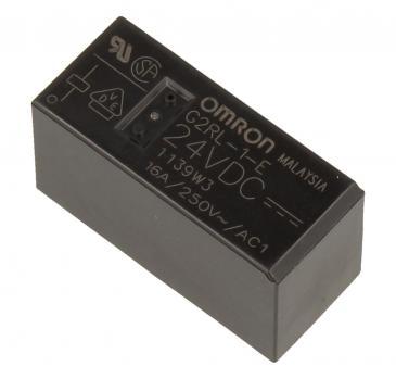G2RL1E24DC 24VDC16A250VAC RELAIS, 1 WECHSLER OMRON