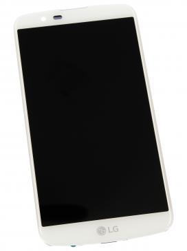 ACQ88868303 LCD + TOUCH FULLSET FÜR LG K10 (K420N) WEISS LG