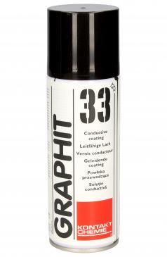 76009AG GRAPHIT33 GRAFIT- LEITLACK 200 ML - 19 SPRACHIGES ETIKETT -