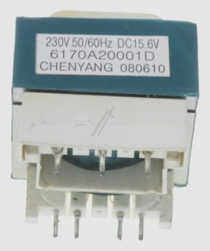 6170A20001D TRANSFORMER,POWER AC230V 50HZ DC15.6V 0.2A 41MM LG