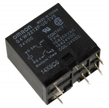 G4W2212PUSTV5HPDC24 24VDC15A250VAC RELAIS, 2 SCHLIESSER - ALTERNATIV FÜR JC2AD-DC24V OMRON