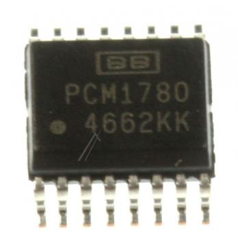 PCM1780DBQ IC 24-BIT AUDIO DAC, SMD SSOP-16 (BURR-BROWN) TEXAS-INSTRUMENTS