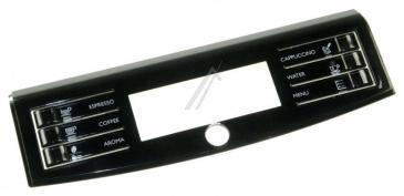 11031247 DISPLAY FRONT PANEL S/SCR.BLACK SMR/H SAECO