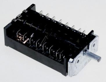 M00311075 Przełącznik funkcji piekarnika, 6 pozycji BOMPANI
