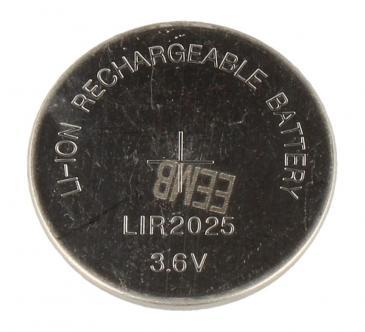 LIR2025 3,6V40MAH KNOPFZELLE, AUFLADBAR