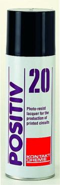 82009AH POSITIV20 FOTOPOSITIV-RESIST 200 ML - 19 SPRACHIGES ETIKETT -