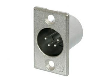 Wtyk XLR 3 PIN (wtyk NC4MP