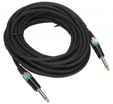 Kabel JACK mono 6,35 mm wt/wt, długość 10 m