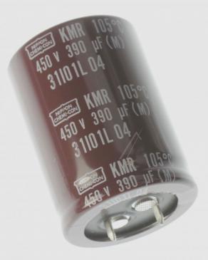390UF450V ELKO RADIAL SNAP-IN 105° 30X42,5MM -ROHS- UNITED CHEMI-CON