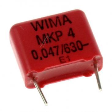 MKP4J024703F00KSSD 0,047UF630V MKP4-KONDENSATOR RM=10MM -ROHS-KONFORM- WIMA
