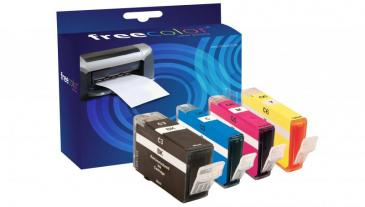 CABCI6INK4FRC TINTENPATRONE, MULTIPACK FREECOLOR