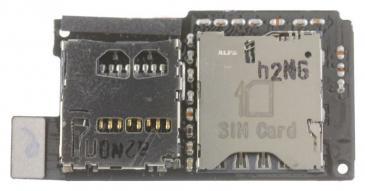 51H2050800M SIM CARD READER FLEX FÜR HTC ONE SV HTC