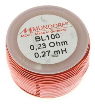 BL1000,27 0,27MH0,23R MCOIL LUFT-SPULE, BACKLACK, 1MM DRAHT, 30X20MM MUNDORF