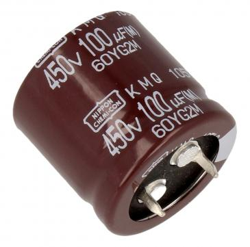 EKMQ451VSN101MQ25S 100UF450V ELKO RADIAL UCC 105° 25,4X25MM SNAP-IN UNITED CHEMI-CON