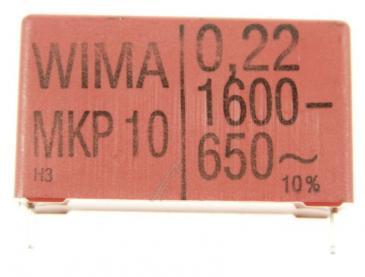 MKP1T032207C00KSSD 0,22UF1600V MKP10 IMPULSKONDENSATOR RM=37,5 -ROHS-KONFORM- WIMA