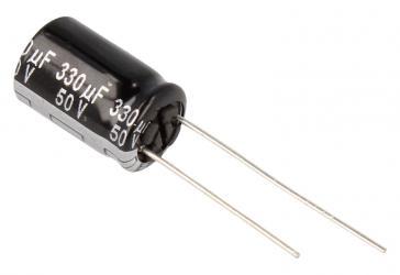 ECA1HHG331 330UF50V ELKO RADIAL PAN 105° 10X16MM PANASONIC