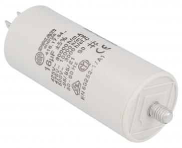 416175464 16,0UF400450VFASTON6,3MM Kondensator rozruchowy wodoszczelny DUCATI