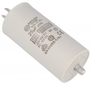 416172564 25,0UF400450VFASTON6,3MM Kondensator rozruchowy wodoszczelny DUCATI