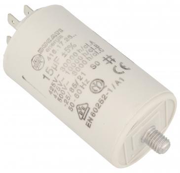 416172664 15,0UF400450VFASTON6,3MM Kondensator rozruchowy wodoszczelny DUCATI