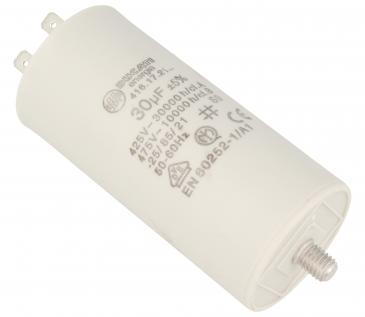 416172164 30,0UF400450VFASTON6,3MM Kondensator rozruchowy wodoszczelny DUCATI