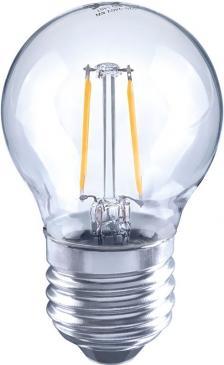 10101800 FILAMENT LED GLOBE E27, G45, 2700K, 2 WATT 250 LM KLAR ARTEKO