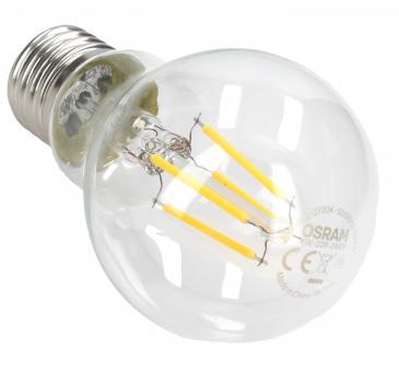 PRFCLA404W827 FILAMENT RETROFIT LED-LAMP/MULTI-LED, E27, 4 W, 230 V OSRAM