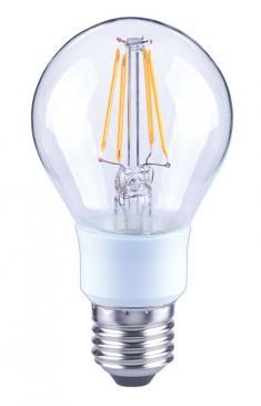 10101810 A60 FILAMENT LED E27, A60, 2700K, 4,5WATT, 470 LM, KLAR, DIMMBAR ARTEKO