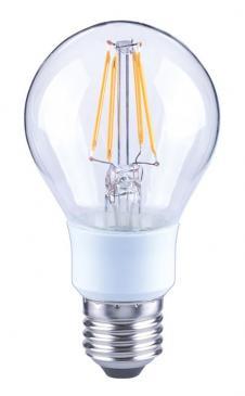 10101811 A60 FILAMENT LED E27, A60, 2700K, 5,5WATT, 640LM, KLAR, DIMMBAR ARTEKO