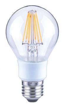 10101753 A60 FILAMENT LED E27, A60, 2700K, 7 WATT, 810 LM, KLAR, DIMMBAR ARTEKO
