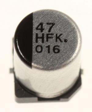 Kondensator SMD PANASONIC EEEFK1H470XP