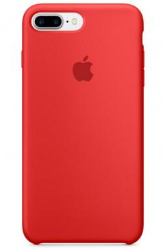 MMQV2ZMA APPLE IPHONE 7 PLUS SILICONE CASE (PRODUCT)RED APPLE