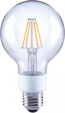 10101812 G80 FILAMENT LED E27, G80, 2700K, 4,5 WATT 470 LM KLAR, DIMMBAR ARTEKO